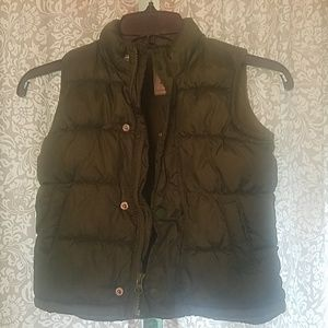 Toddler boys puff vest